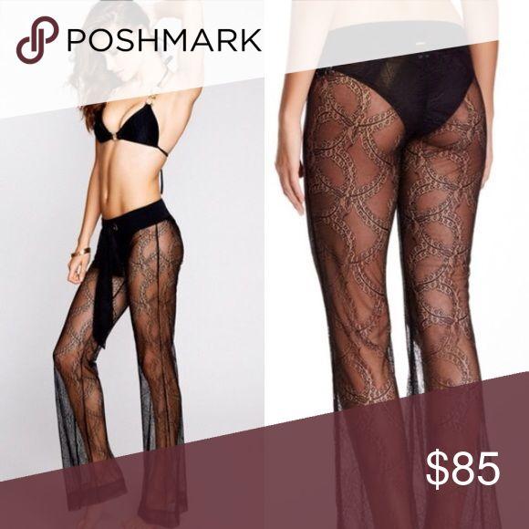 Beach bunny sheer lace pants size medium new Beach bunny sheer lace pants size medium new with tags Beach Bunny Swim