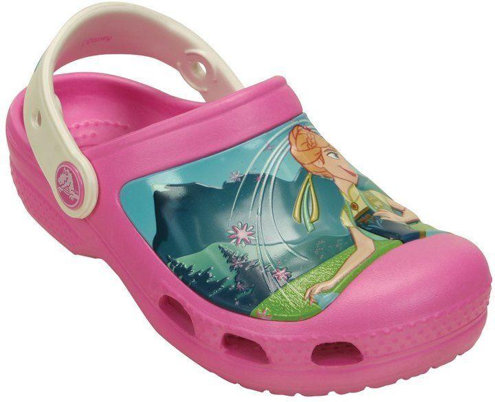a5515944fc52 Crocs Girls  Frozen Fever Clog (Toddler  Little Kid  Big Kid) 8139614