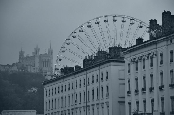 Lyon et sa lumière en hiver.