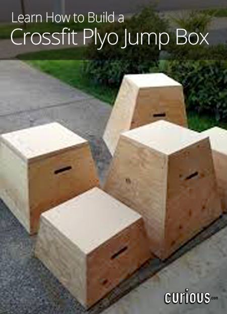 How to Build a Crossfit Plyo Jump Box (With images)   Diy ...