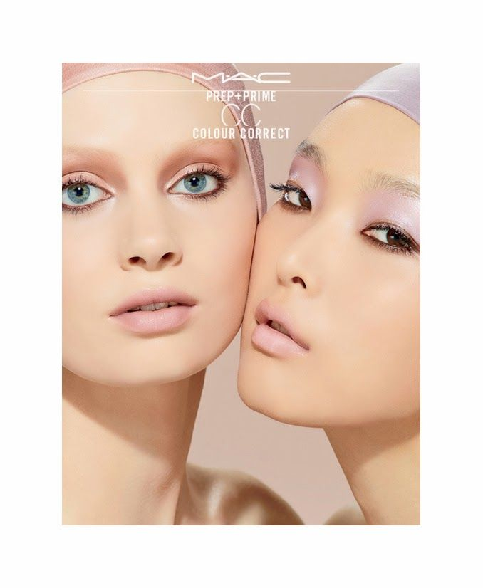 The Essentialist - Fashion Advertising Updated Daily: MAC Cosmetics Prep+Prime Colour Correct Ad Campaign Spring/Summer 2014