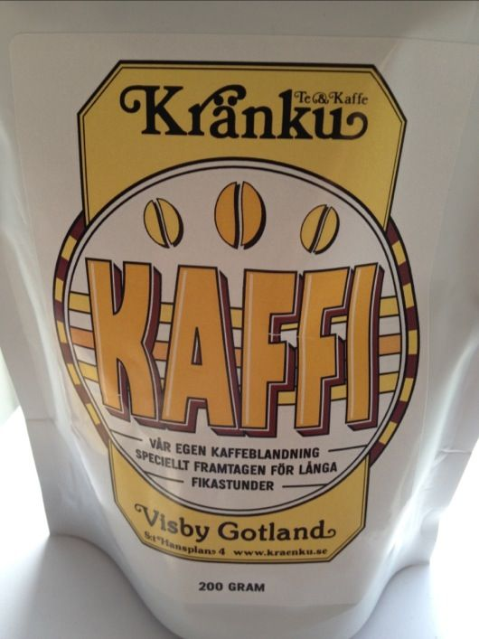Henrik blogged about our new coffee blend Kaffi.