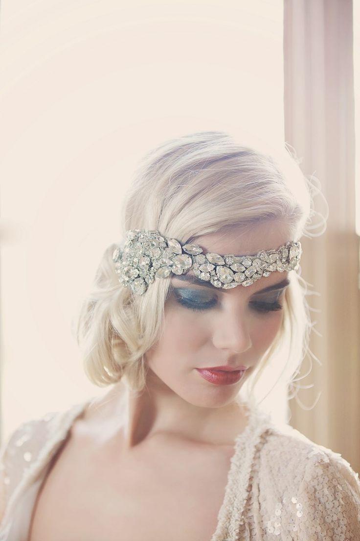 Be Bespoke Bridal Headpieces Ireland - Trishna crystal bridal hairpiece by gibson bespoke
