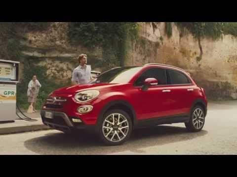 Official Fiat 500X teaser blue pill Viagra Pillola Blu Spot Ufficiale