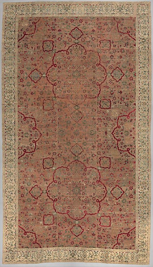 Velvet and Silk Carpet | The Met