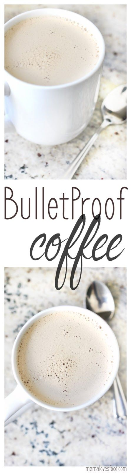 How to Make Bulletproof Coffee - perfect if you're hungry in the morning but don't like to eat breakfast!  This stuff is DELICIOUS <3
