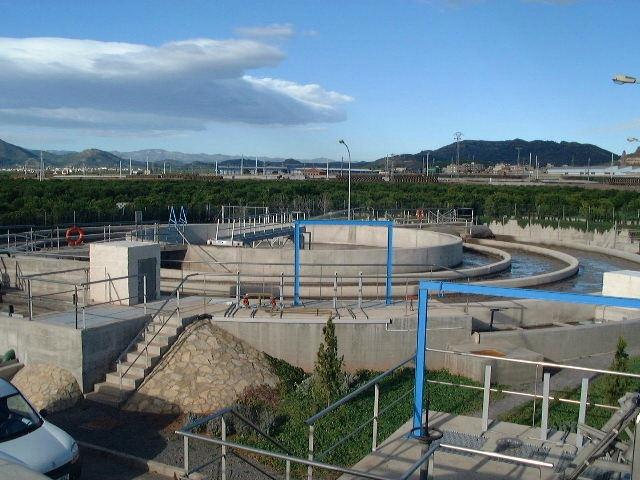 EDAR de Almerana -Castellón- (C.Valenciana) Gestionada por FACSA