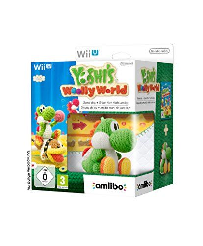 Yoshi's Woolly World and amiibo Green Yoshi Bundle (Nintendo Wii U/3DS)