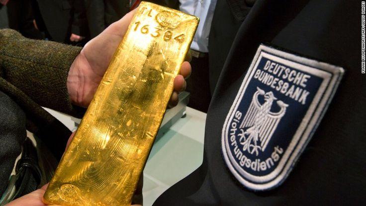 Banca centrală germană îşi aduce acasă rezervele de aur, stocate la New York şi Paris, mai devreme decât plănuise