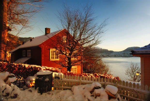 Hiver à Bergen, en Norvège, par Véronique Soulier / Communauté GEORetrouvez d'autres photos de ce membre