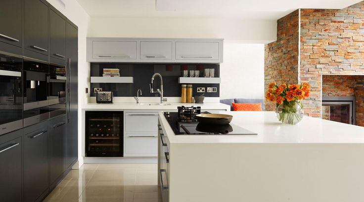 Linear Kitchens from Harvey Jones Kitchens