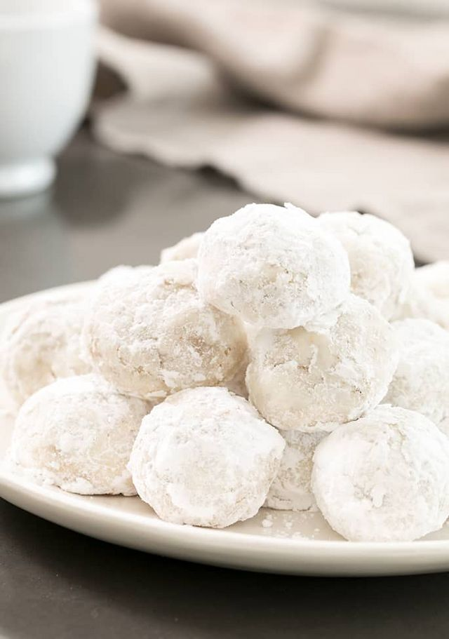 Easy Russian Tea Cakes What Kind Of Nuts