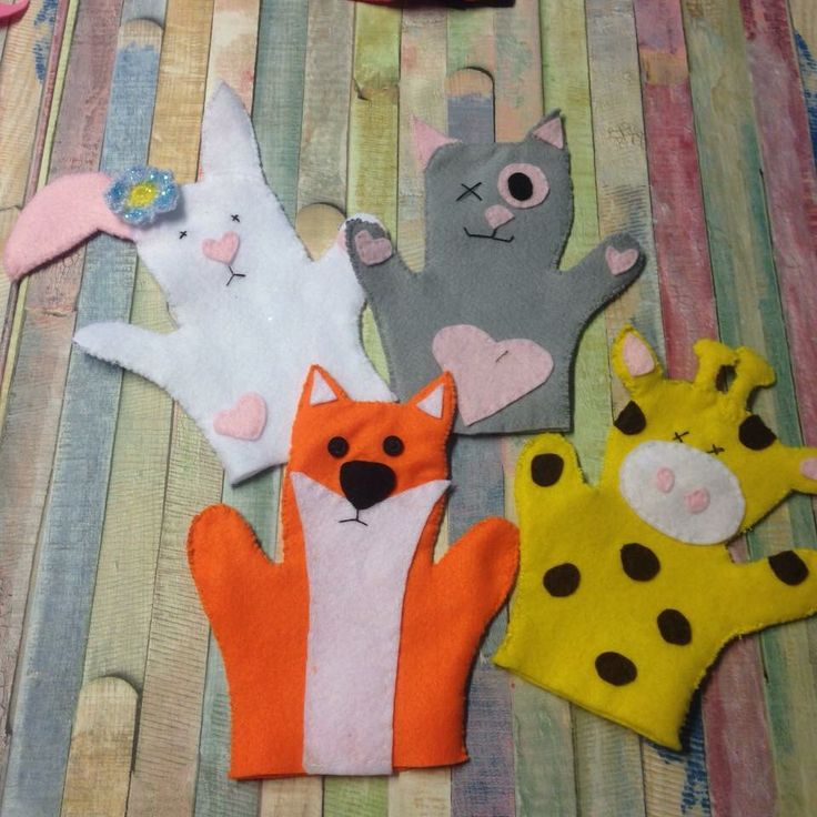 Diy handpuppets made them myself