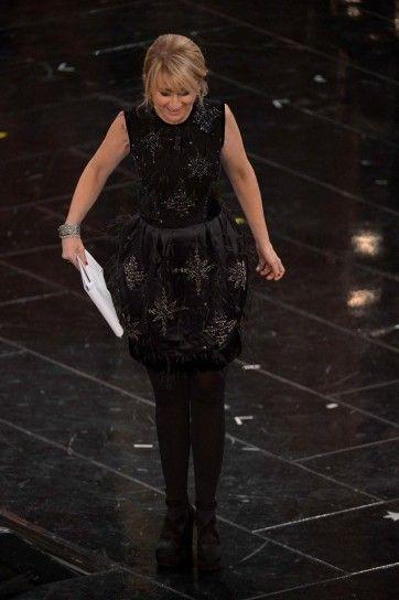 Luciana Littizzetto, primo look prima serata