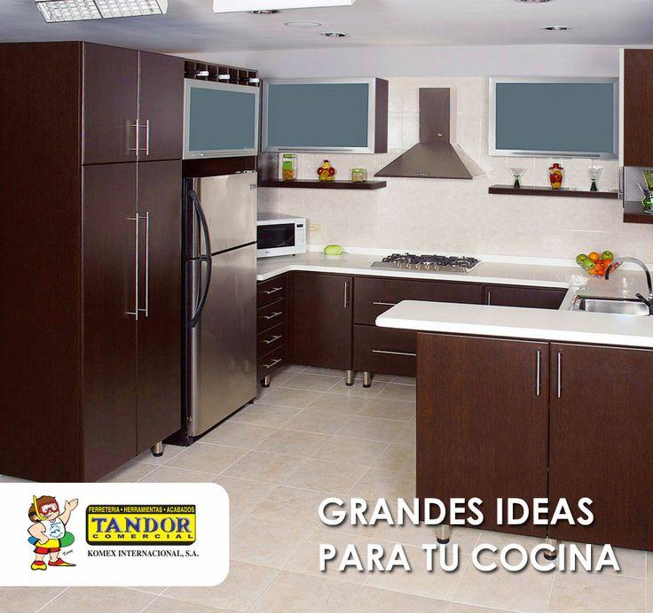 17 best images about cocinas fabricadas por tandor on for Muebles de cocina tipo isla