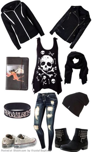 By Krystal Baptiste. Grunge Fashion #grunge @Bloom.com