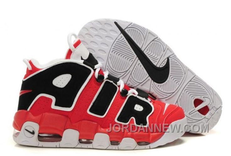 Shop NK Air More Uptempo Varsity Red/Black-White Online For Sale black,  grey, blue and more.