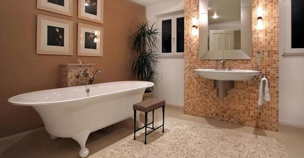 Ceramic Tile Flooring Tip: Don't use bleach or ammonia-based cleaners — these products can discolor your grout if used too often. http://www.facebook.com/DesignSurfaces