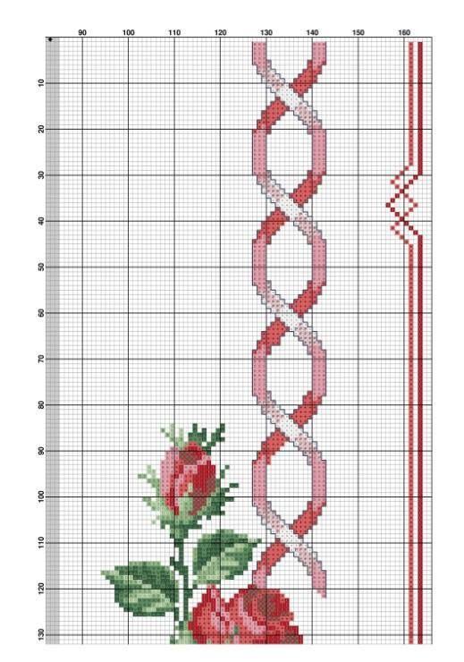 Rose e campanule rosse 4