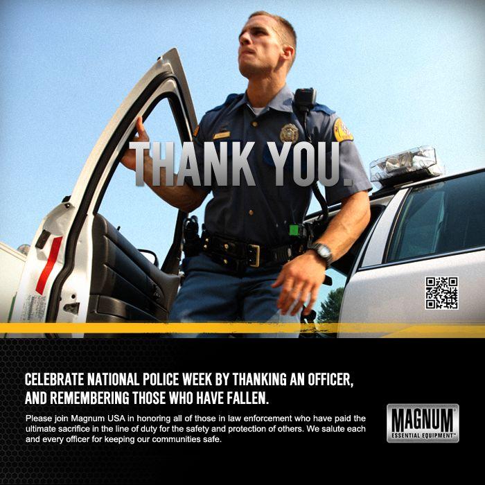 Thank an officer