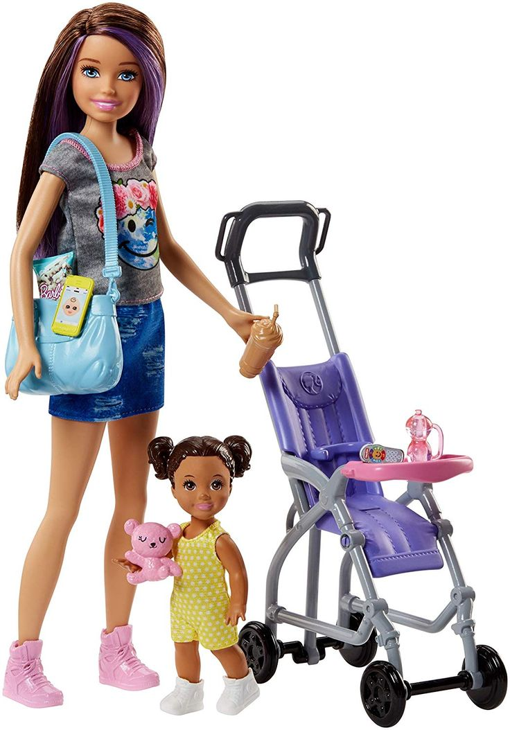 Barbie Skipper Babysitter and Stroller Playset Review