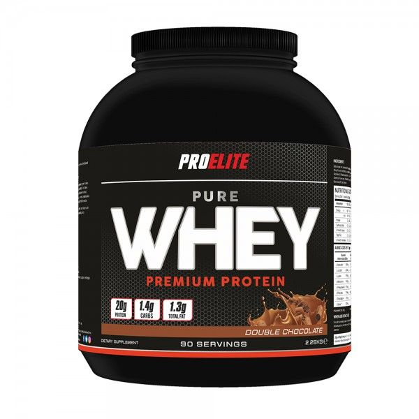 Buy online Pro Elite Pure Whey Protein 2.25Kg at affordable rate from Elite supplements UK. Read product full overview and specification,customers reviews,Nutrition,Ingredients,Directions for Use,free shipping in UK.