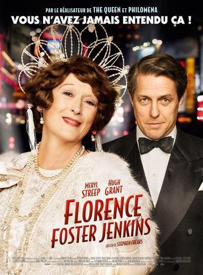 Florence Foster Jenkins (2016) Regarder Florence Foster Jenkins (2016)en ligne VF et VOSTFR. Synopsis: L'histoire vraie de Florence Foster Jenkins, héritière new-yorkaise et ...