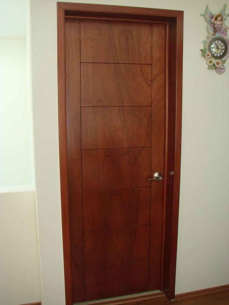 Mejores 130 im genes de puertas de madera en pinterest - Puertas baratas exterior ...