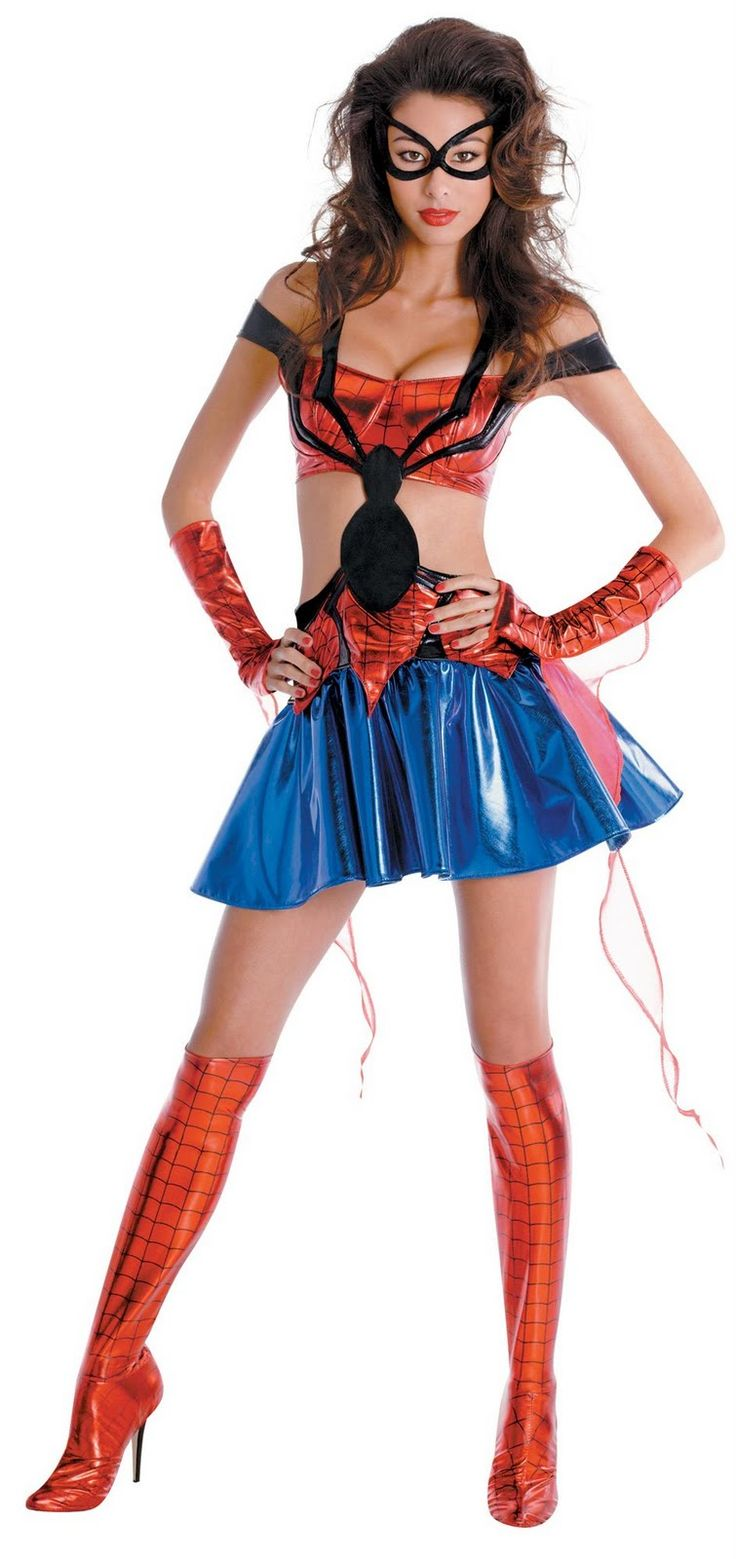 Spider Woman Sexy Halloween Costumes For Women