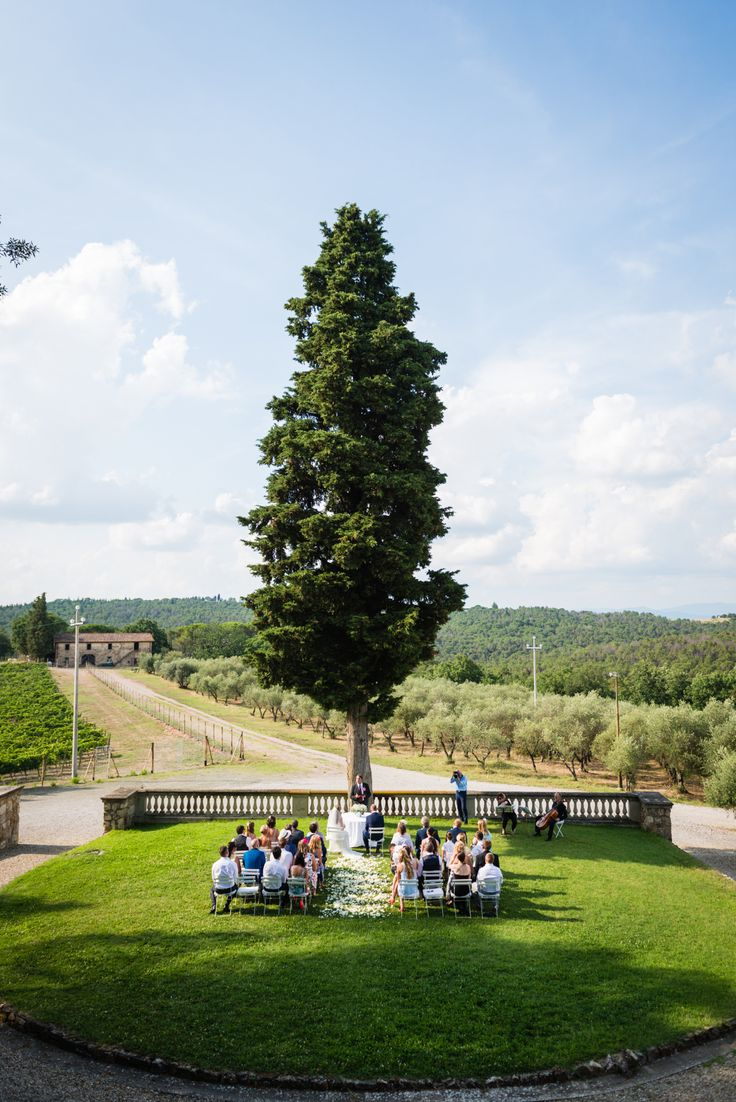 Wedding day at Villa Nozzole. Tuscany, Italy