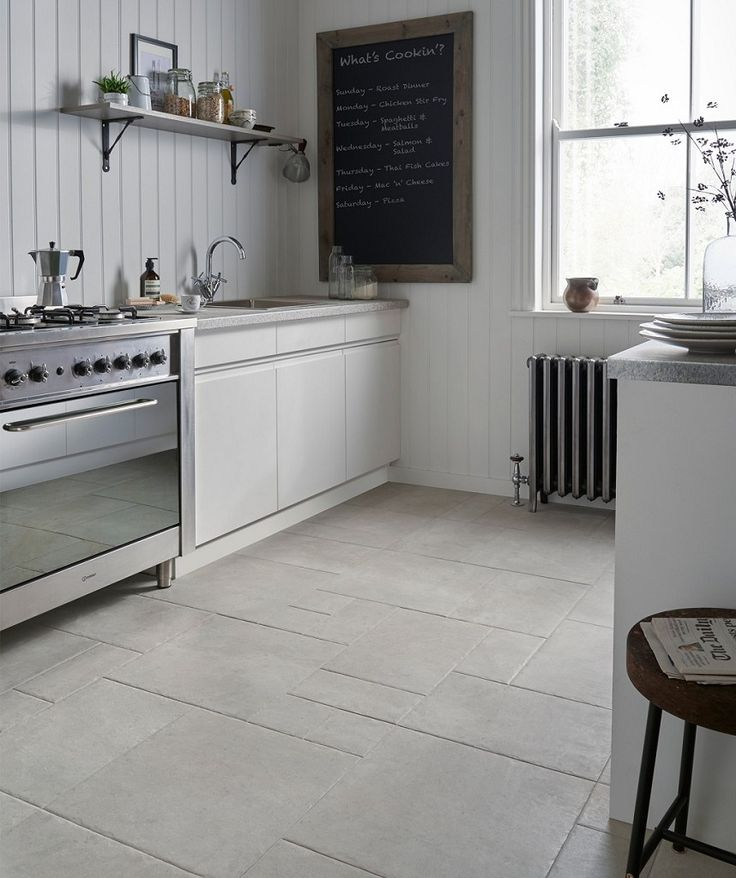 black and white tile kitchen floor mottistone grey modular tile kitchen 9286
