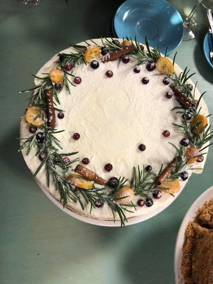 Christmas carrot cake. #cake #winter #christmas #carrot # ...