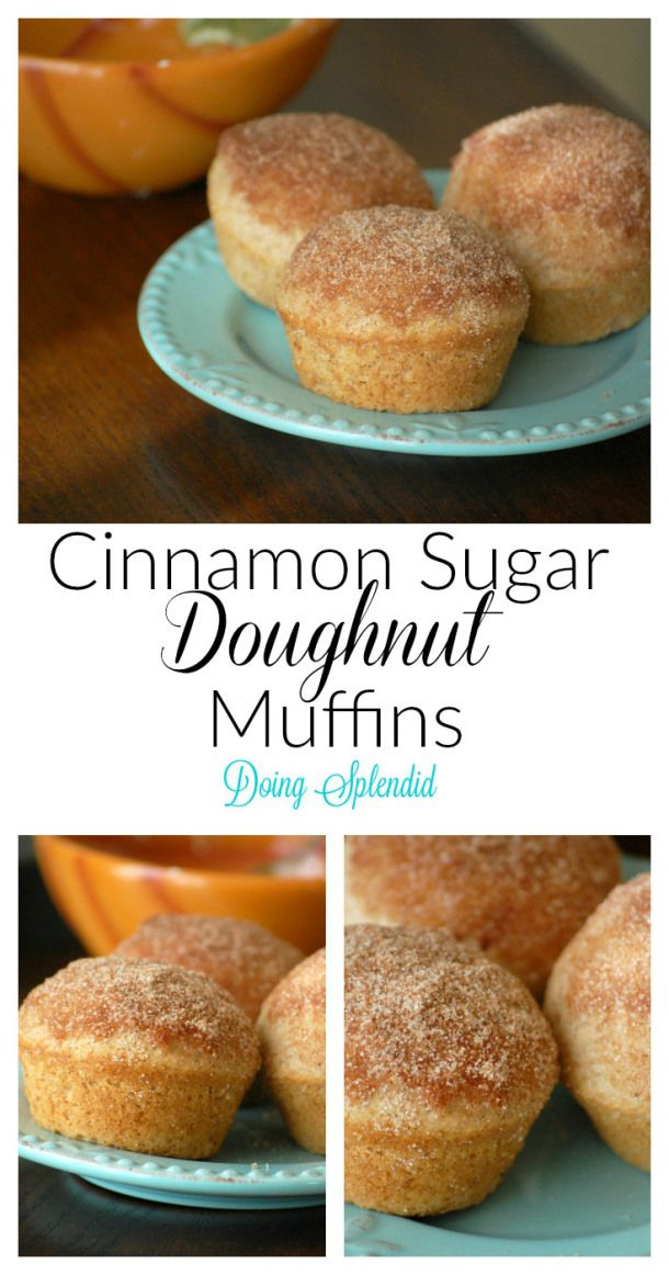 Our family loves Cinnamon Sugar Doughnut muffins! They are simple to make and very tasty. These muffins are wonderful for breakfast and a great way to start the day :)