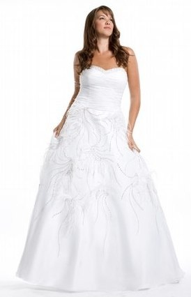 White wished away dress by Party Time Prom  Alight