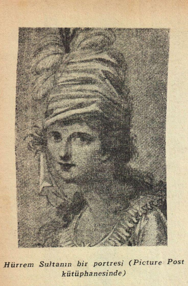 Kanuni Sultan Süleyman ve Hürrem Sultan 'nın Hiç Görülmemiş Orjinal Resimleri Hürrem Sultan El yazısıyla Yazılmış Mektubu Resimi