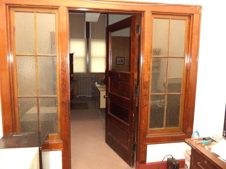 Doors into principals office 1960's | SCHOOL DAZE ...