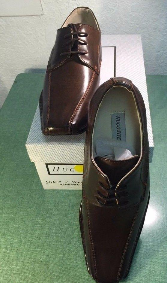 Boys/' Dress Shoes Topaz Looks Like Aqua Roberto Chillini Sizes 4.5-8