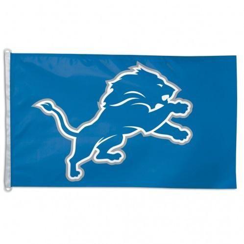 NFL Detroit Lions Primary Logo 3' x 5' Flag