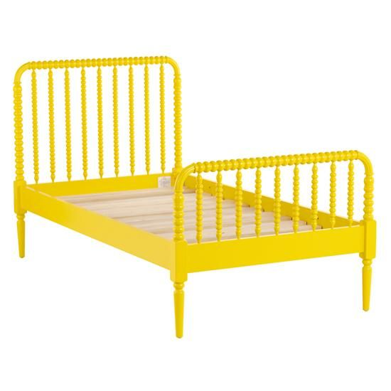 jenny lind yellow bed the land of nod