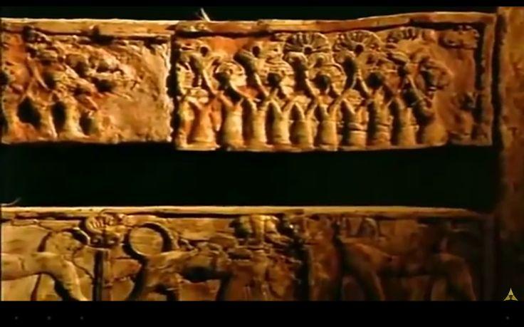 Detalhes cama fenícia