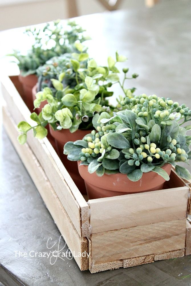 Make A Diy Wood Planter Box From Wood Shims Diy Board Pinterest