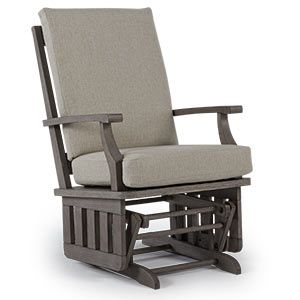 glider rockers heather best home furnishings adding the stylish riverloom finish to a