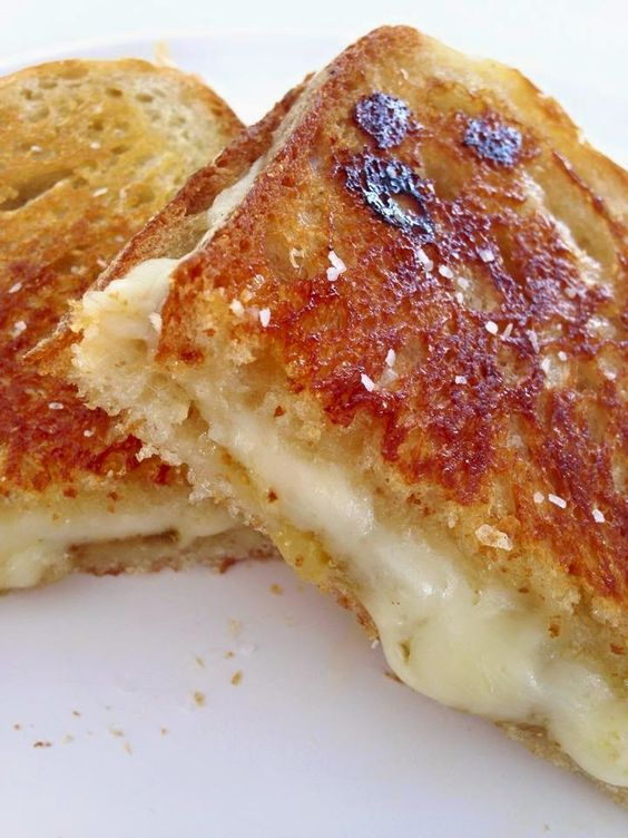 Wolfgang Puck's No Ordinary Grilled Cheese Sandwich...Fig Jam and Honey Make This Special