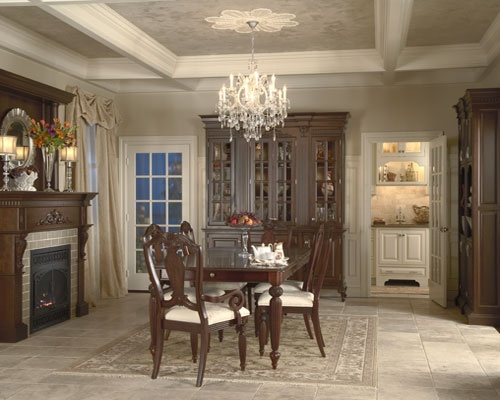 Medallion Cabinetry Madison Dining Room Design