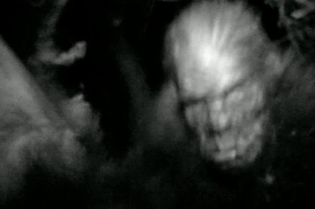 """""""This is moment Bigfoot was 'caught on film', according to one of the search parties who feature in BAFTA nominated filmmaker Morgan Matthews' documentary.  The BBC Four doc, Storyville Shooting Bigfoot: America's Monster, followed three American Bigfoot hunters trying to capture proof of the elusive ape-like creature.  In the video above renowned 'master tracker' Rick Dyer was intent on shooting and killing the mysterious beast as he staked out a stretch of woods in Texas..."""""""