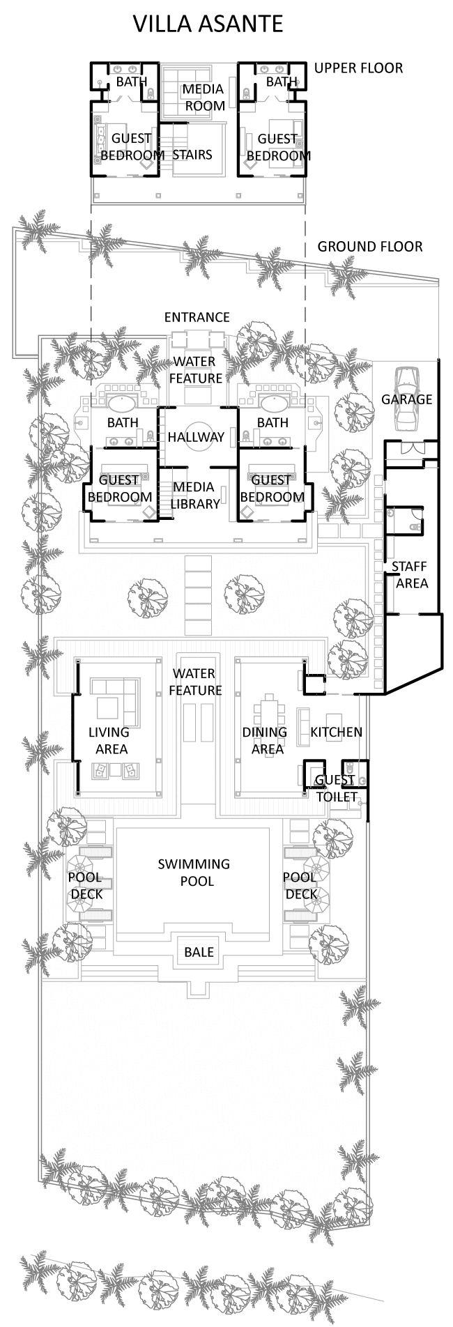 Villa Asante (Floor Plan)