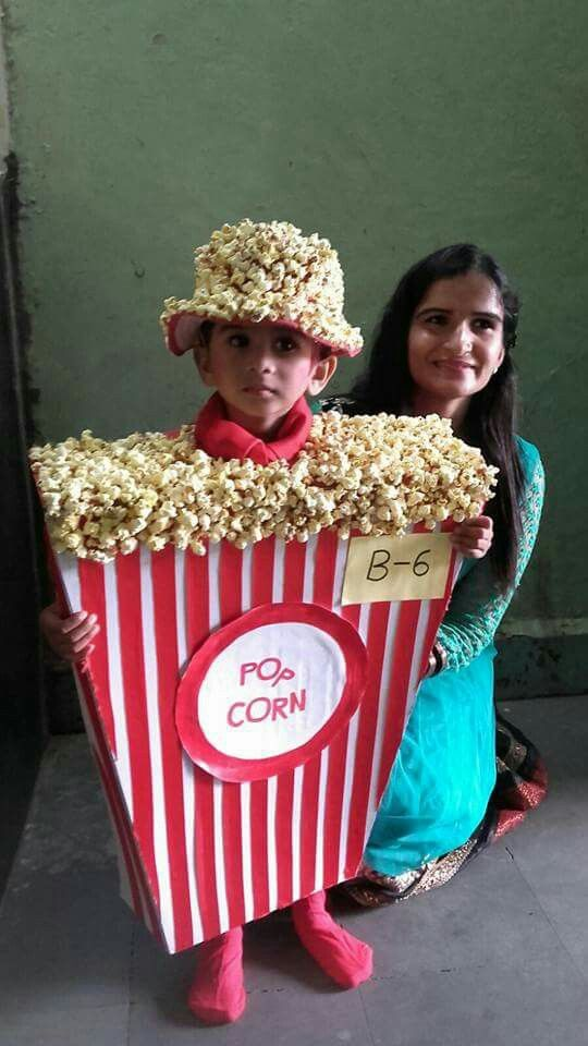 Popcorn Fb Fancy Dress For Kids Fancy Dress Competition Baby