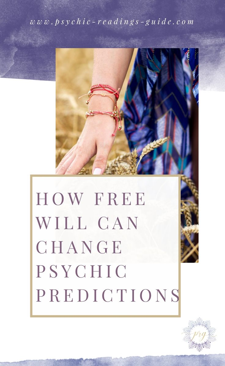 Psychic predictions are greatly influenced by our free will. Learn about destiny, why some predictions come true and why others don't. via @PRG_psychic