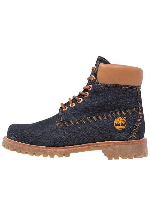 Chaussures Timberland HERITAGE 6 INCH - Bottines à lacets - raw white oak denim denim bleu: 190,00 € chez Zalando (au 25/02/17). Livraison et retours gratuits et service client gratuit au 0800 915 207.