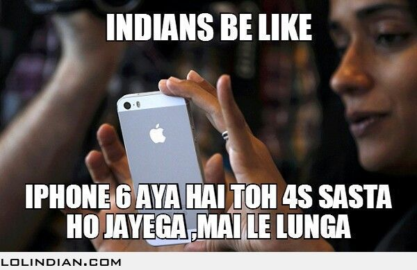 Indian be like